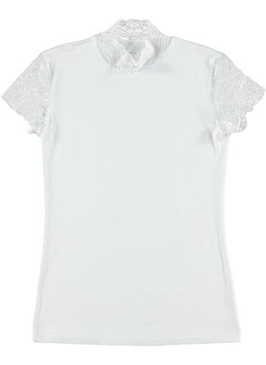 Doreanse Tişört Beyaz